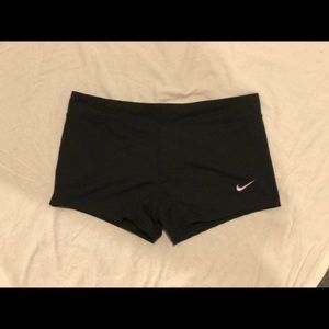 Nike black spandex
